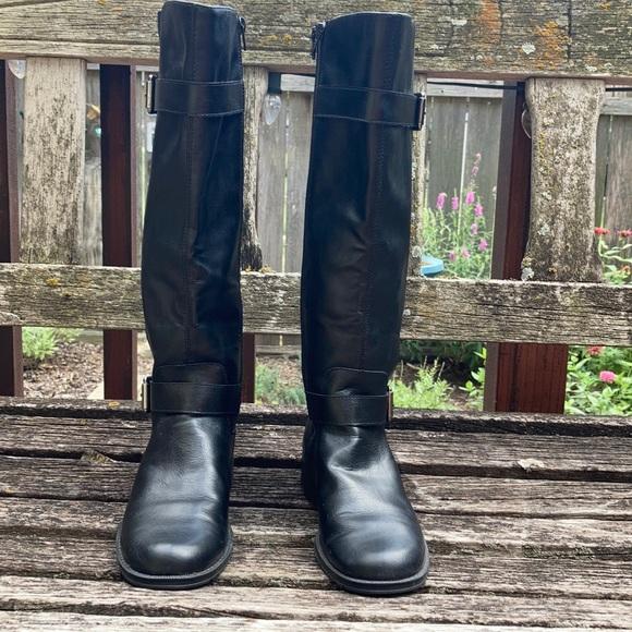 Aerosoles Shoes   Tall Black Boots A2